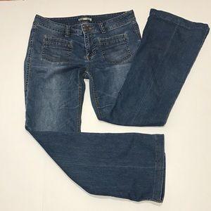 Cabi Farrah wide leg denim jeans size 4